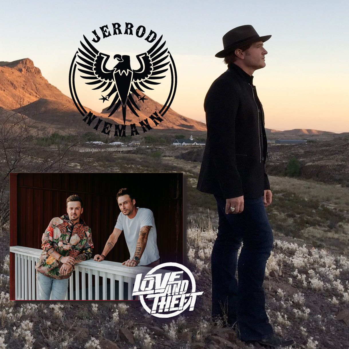 Jerrod Niemann with Love and Theft